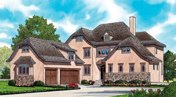 European House Plan 53793