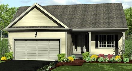 House Plan 54000