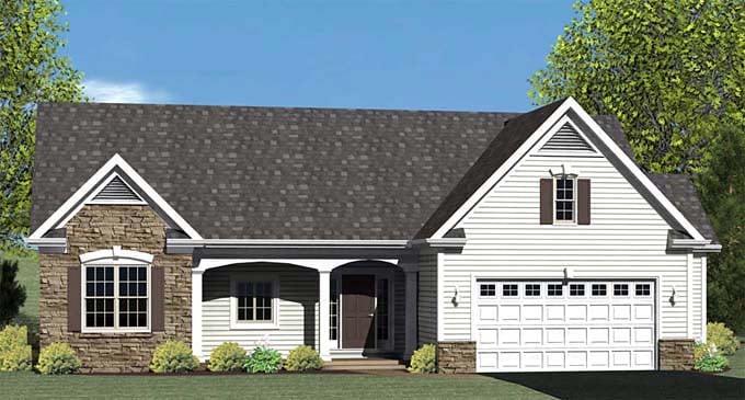 House Plan 54005