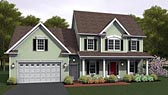 Plan Number 54035 - 2223 Square Feet