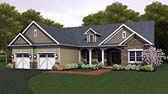 Plan Number 54041 - 2272 Square Feet