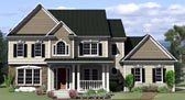 Plan Number 54042 - 2225 Square Feet