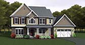 Plan Number 54056 - 2378 Square Feet