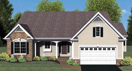 House Plan 54059