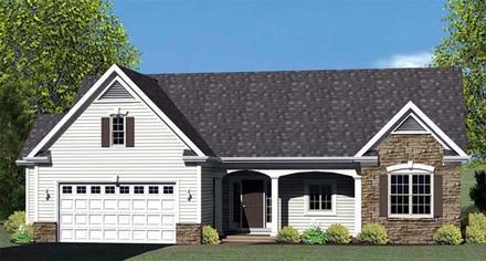House Plan 54060