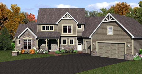 CapeCod House Plan 54081