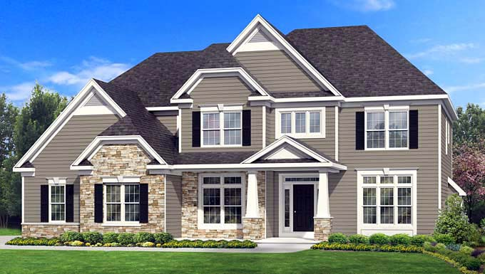 Traditional House Plan 54084