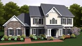 Plan Number 54086 - 2860 Square Feet