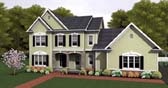 Plan Number 54098 - 2484 Square Feet