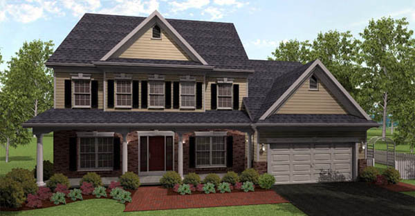 House Plan 54099 Elevation