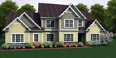 Plan Number 54102 - 2671 Square Feet