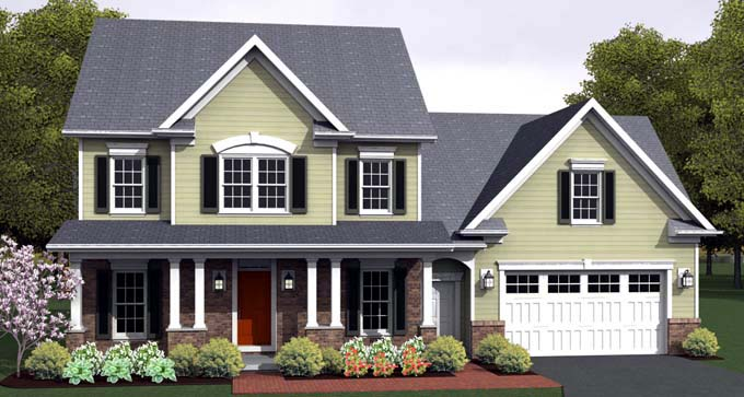 Traditional House Plan 54124