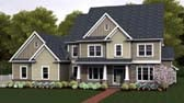 Plan Number 54141 - 3159 Square Feet
