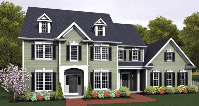 Traditional House Plan 54142