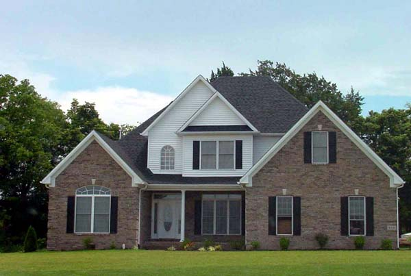 Elevation of Ranch House Plan 54437