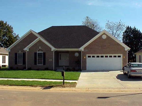 Ranch House Plan 54454