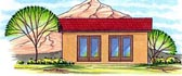 Poolhouse Plan 54762