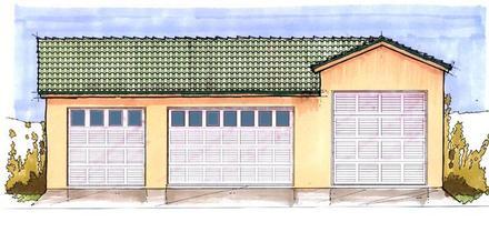Garage Plan 54776