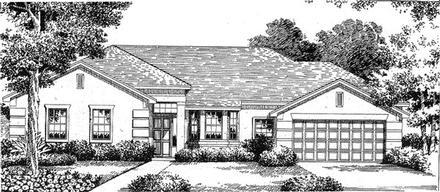 House Plan 54830