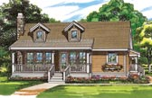 Plan Number 55022 - 1064 Square Feet