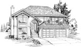 Plan Number 55049 - 1834 Square Feet