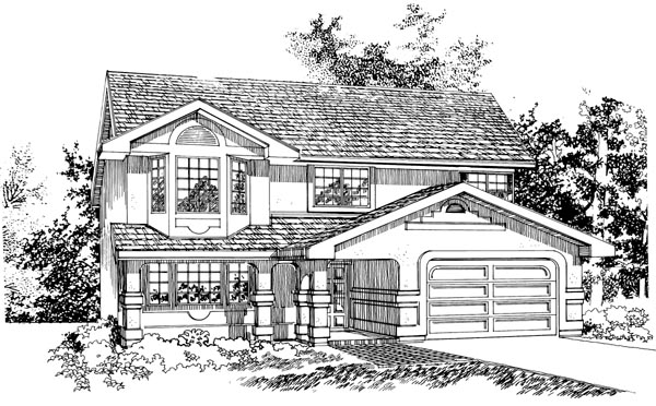 Mediterranean House Plan 55076 Elevation