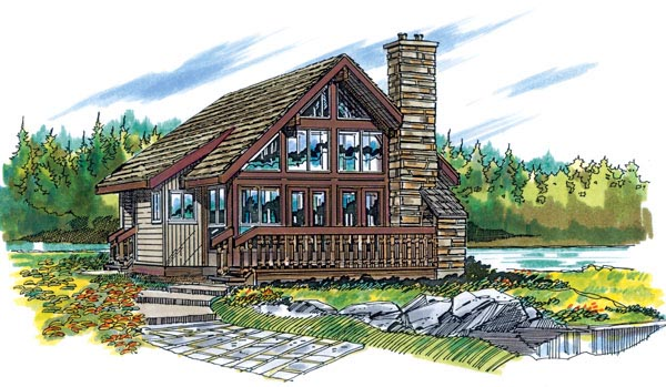 Traditional House Plan 55127