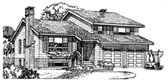 Plan Number 55152 - 1935 Square Feet