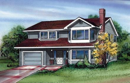 House Plan 55172