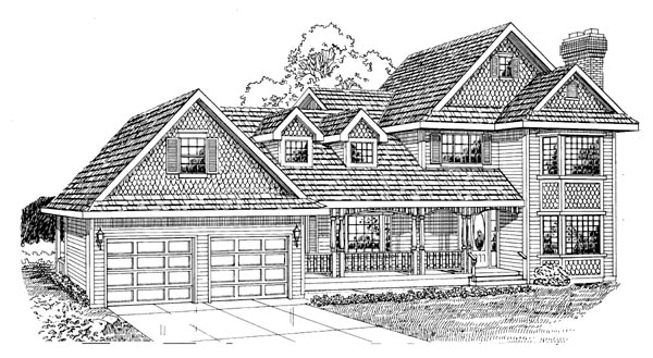 Country House Plan 55295