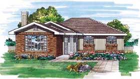 House Plan 55505