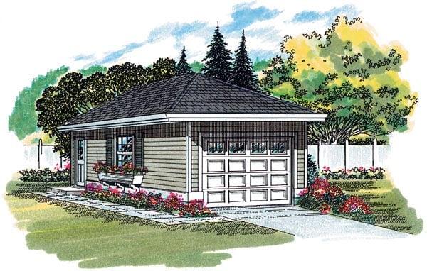Garage Plan 55520