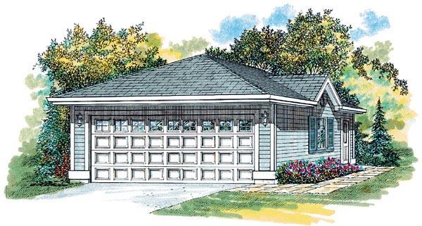 Garage Plan 55522