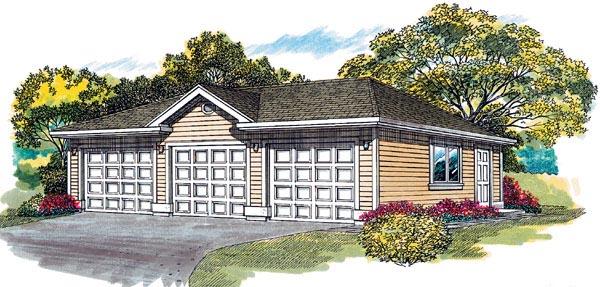 Garage Plan 55523