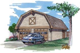 Garage Plan 55526