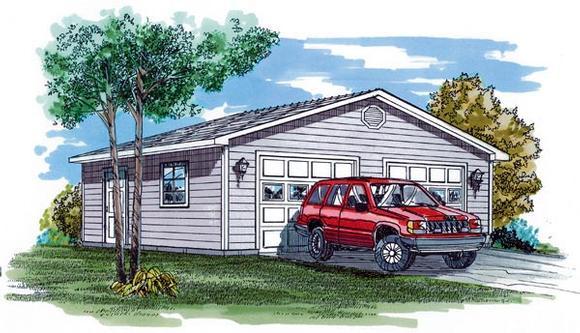 Garage Plan 55527