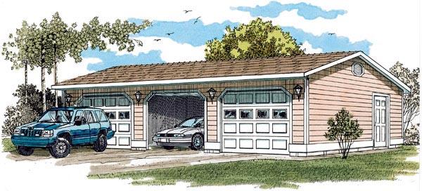 Garage Plan 55529