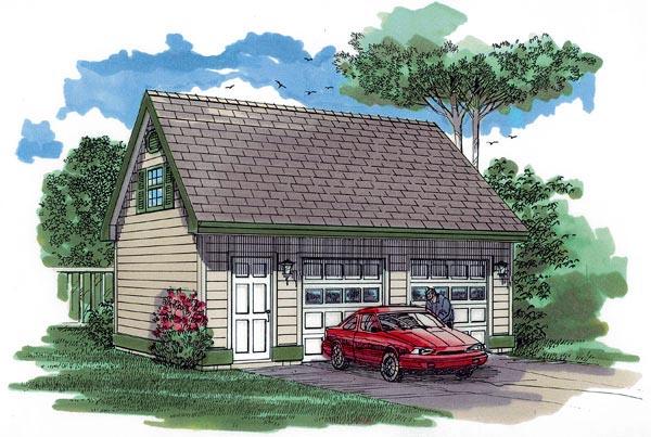 Garage Plan 55530