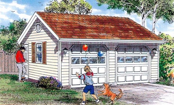Garage Plan 55532