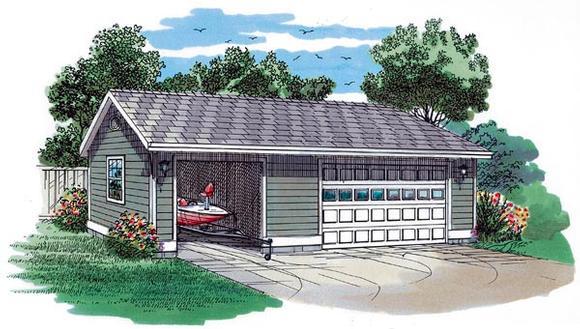 Garage Plan 55533