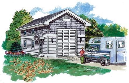Garage Plan 55535