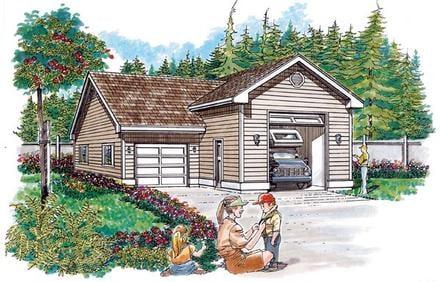 Garage Plan 55536