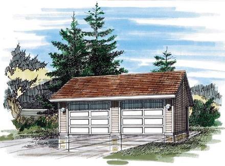 Garage Plan 55540