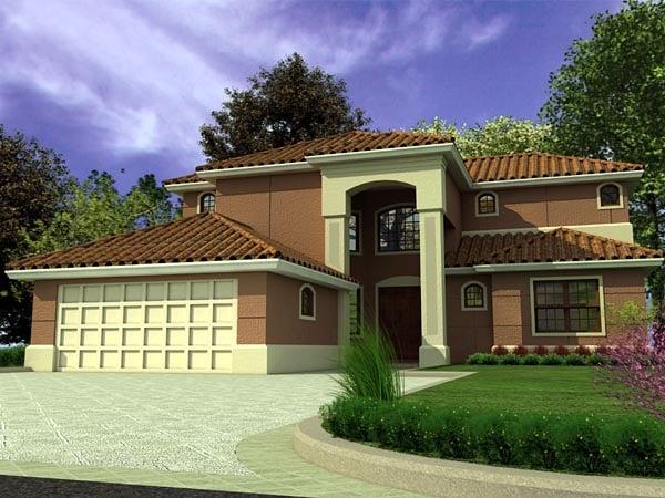 Florida House Plan 55729