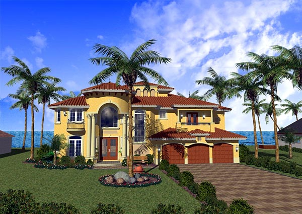 House Plan 55765