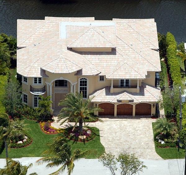 Mediterranean House Plan 55765 with 5 Beds, 7 Baths, 3 Car Garage Picture 6