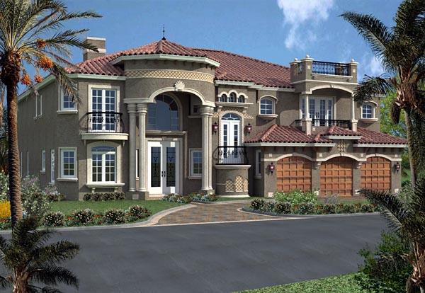 House Plan 55797 At