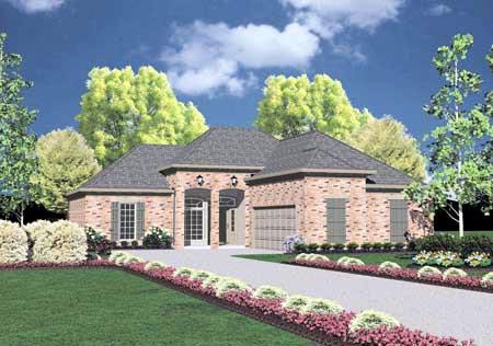 OneStory House Plan 56038