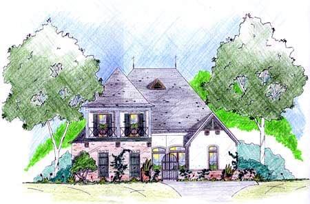 House Plan 56222 Elevation