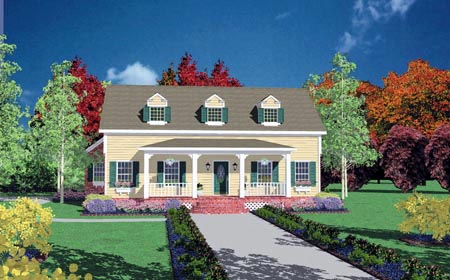 Country House Plan 56265 Elevation